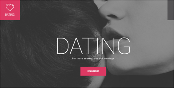 Love Story Dating WordPress Theme