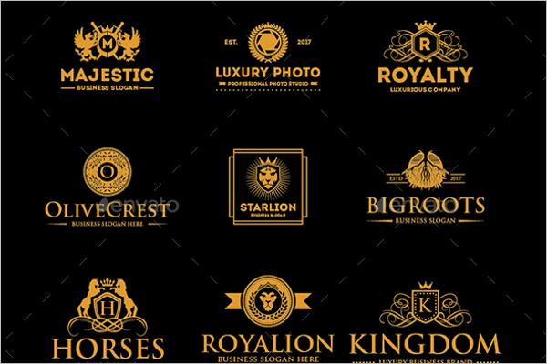 Luxury Hotel Label Design