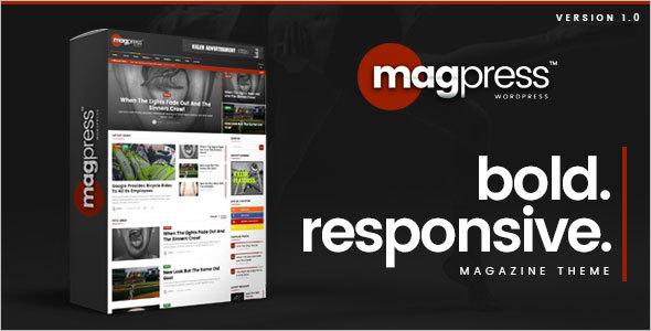 Magazine BuddyPress WordPress Theme