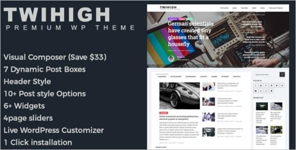Magazine Business BuddyPress Theme