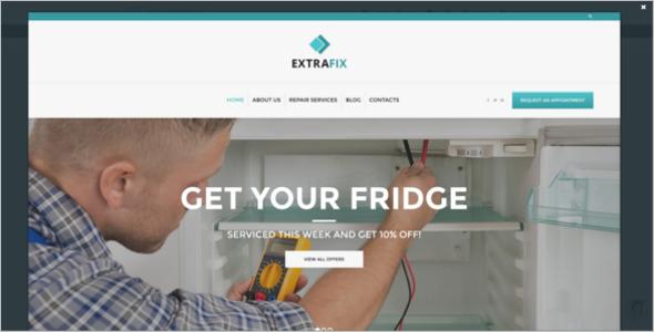 Maintenance & Home Repair WordPress Theme
