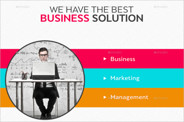 Management Business Banner Design