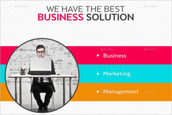 Management Business Banner Design