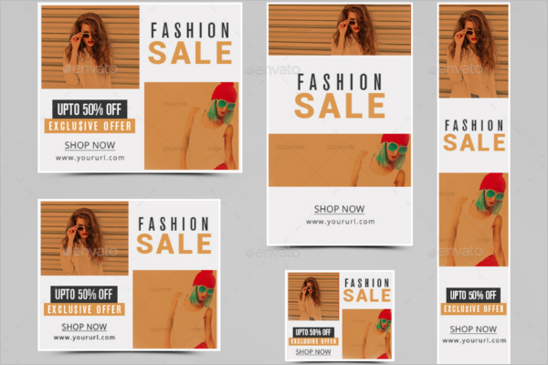 Marketing Fashion Banner Design