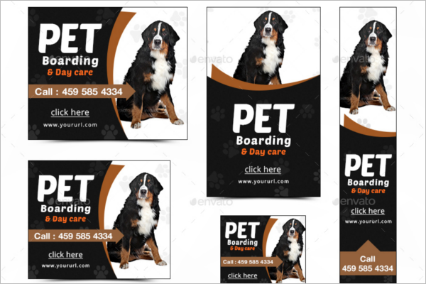 Marketing Pet Care Banner Template