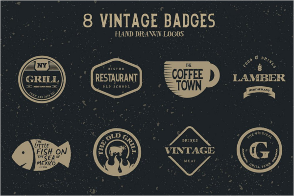 Hipster vintage badge templates free premium templates elegant hipster badge template maxwellsz