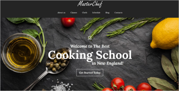 Master Chef WordPress Theme