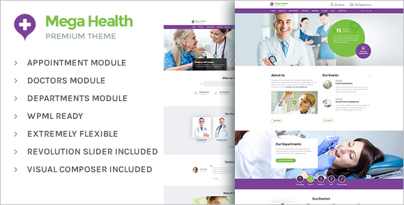 Medical BuddyPress WordPress Theme