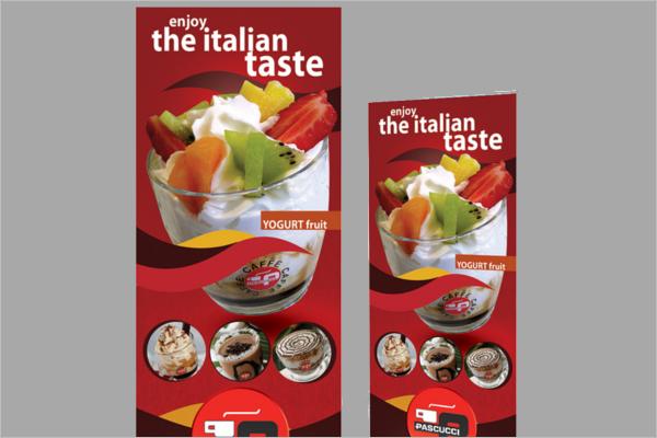 Mine craft Food Banner Design