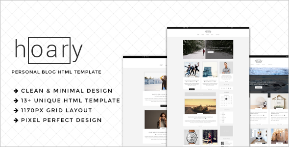 Minimal Blog HTML Template