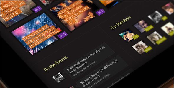 Minimal BuddyPress Social Network Theme