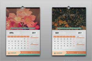 Minimal Business Calendar Template