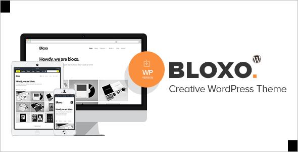 Minimal Freelancer Agency WordPress Theme