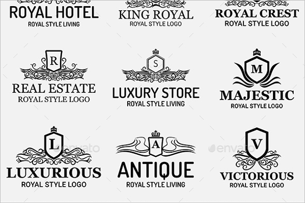 Minimal Hotel Label Template