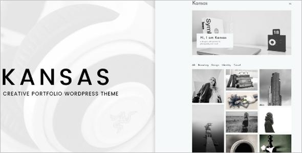 Minimal Portfolio One Page Template