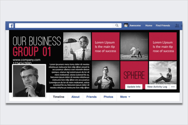 Minimal Real Estate Facebook Cover