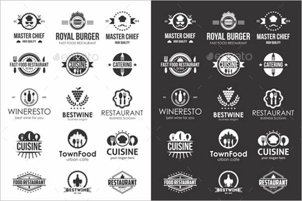 Minimal Typography Badge Template