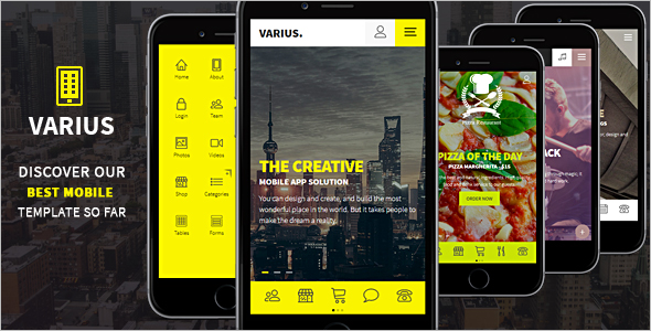 Mobile and Tablet Creative Template