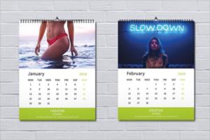 Modern Business Calendar Template