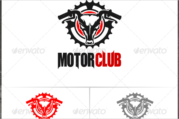 Modern Motorcycle Logo Design