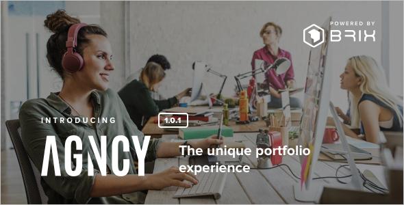 Modern Portfolio WordPress Theme