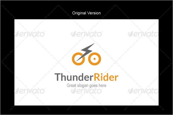 Modern Rider Logo Design