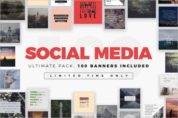Modern Social Media Banner Design