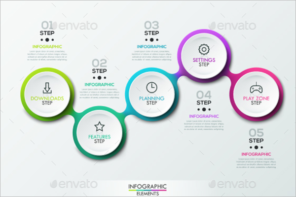 Timeline Infographic Templates PSD Free Premium Creative - Timeline infographic template