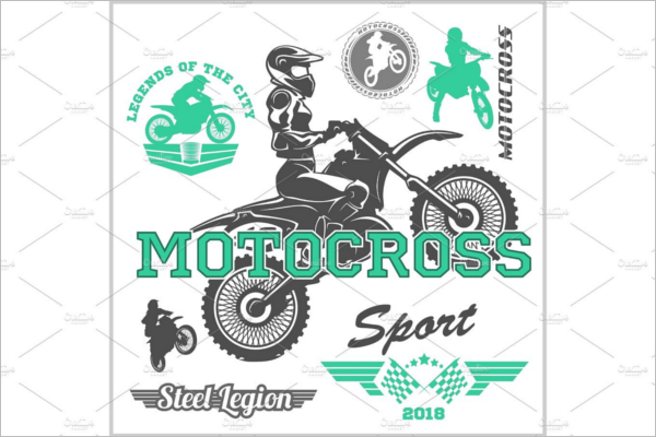 Motorcycle Logo Vector Design