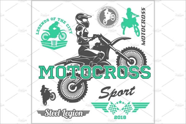 Motorcycle Logo Vector Design