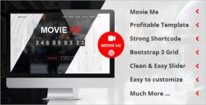Movie One Page WordPress Theme