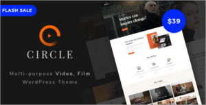 Movie Streaming WordPress Theme