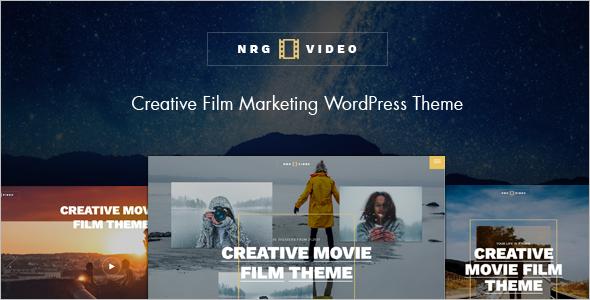 Movie Website WordPress Theme