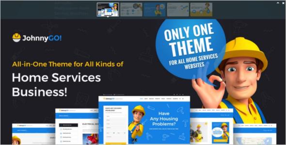 Multi Concept Services WordPress Theme