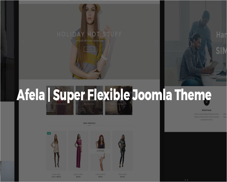 Multi-Purpose Joomla Theme
