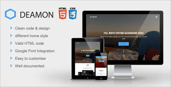 Multi-Purpose Onepage HTML Template