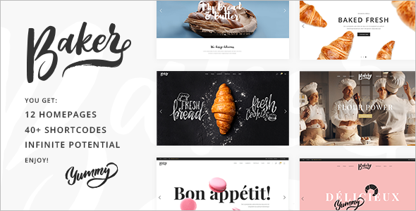 Multi Usage Cake WordPress Theme