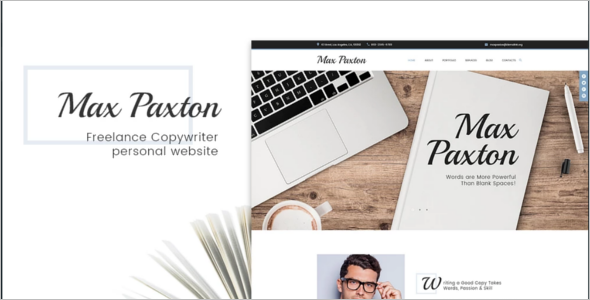 Multi concept Freelancer WordPress Theme