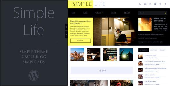 Multipurpose AdSense WordPress Theme