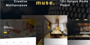 Multipurpose Building WordPress Theme