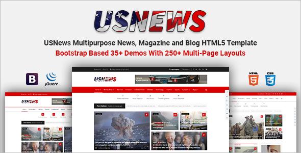 Multipurpose HTML Blog Template