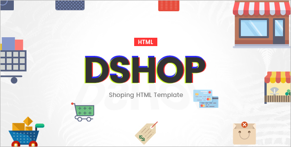 Multipurpose HTML E-Commerce Template