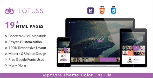 Multipurpose HTML GYM Template