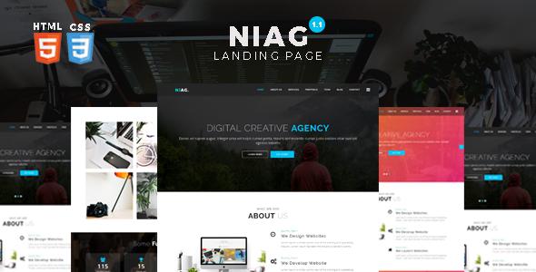 Multipurpose HTML Landing Page Template