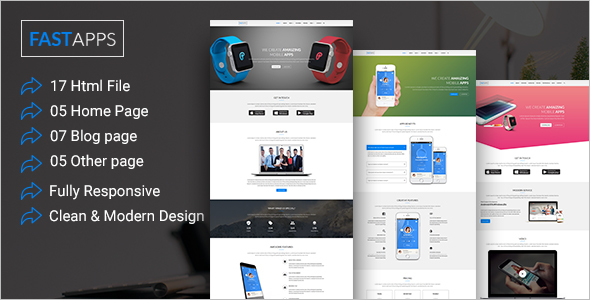 Multipurpose Mobile Template