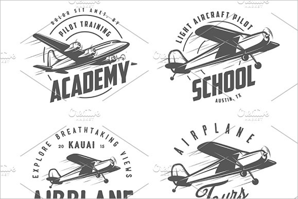 Multiple School Badges Design