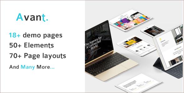 Multi Concept Portfolio Template