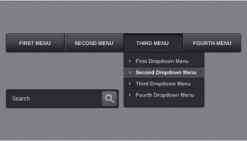 Navigation Menu Bar Templates