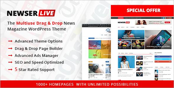 News BuddyPresss Theme