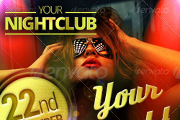Night Club Web Banner Template